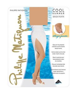 Collant velatissimo senza punta art Cool Summer 8 den - Philippe Matignon